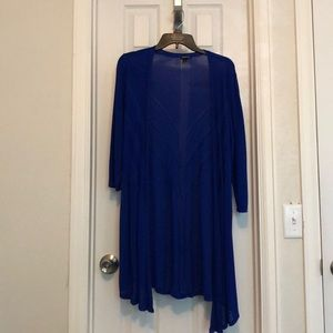 Royal Blue Torrid Cardigan
